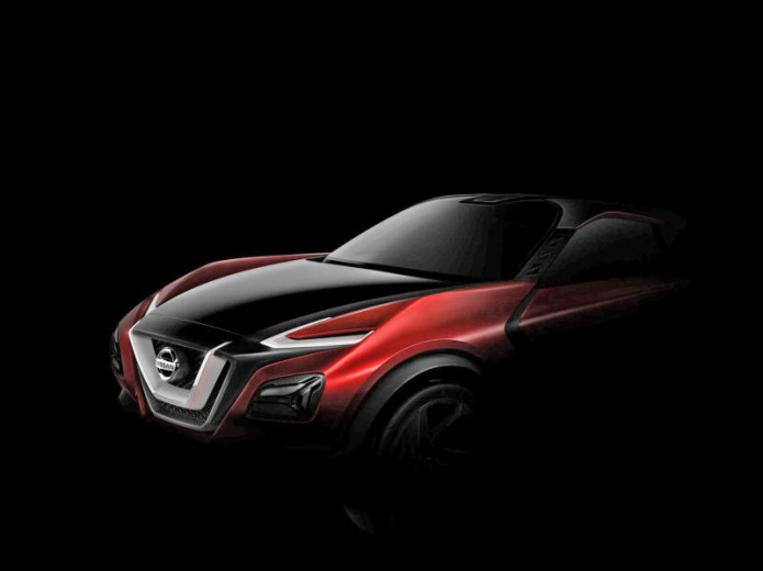 Nissan crossover concept teased could be the new Juke