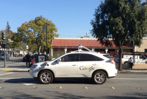Google's self-driving car gets confused by cyclist's track stand