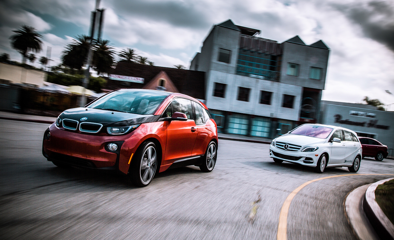 2014 Bmw I3 Vs 2014 Mercedes Benz B Class Electric Drive