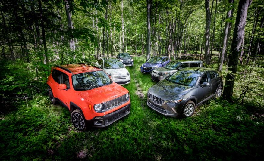 Mazda CX-3 AWD vs. Fiat 500X AWD, Honda HR-V AWD, Jeep ...
