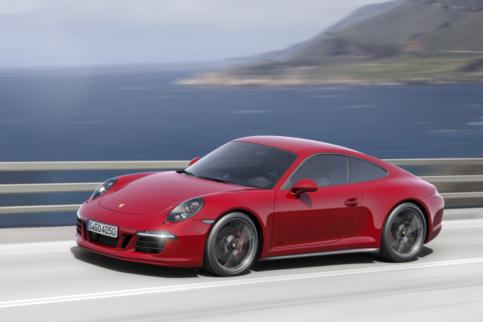Porsche's new 911 Carrera packs a turbo engine and more speed than ever