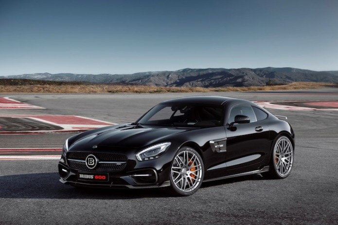 Brabus Mercedes-AMG GT packs 600hp in a killer body