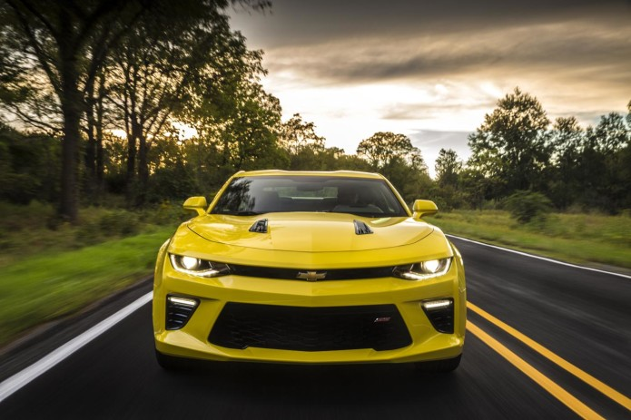 2016 Camaro SS hits 60 mph in 4.0 seconds