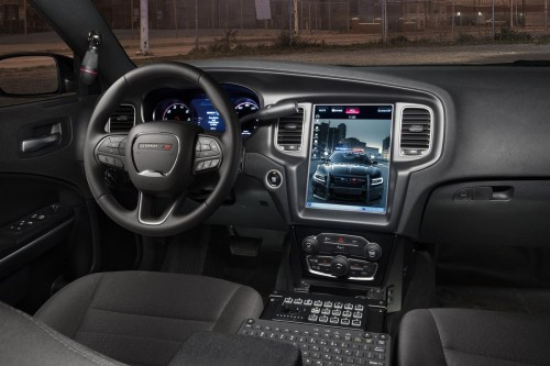 Dodge Charger Pursuit gets 12.1-inch touchscreen