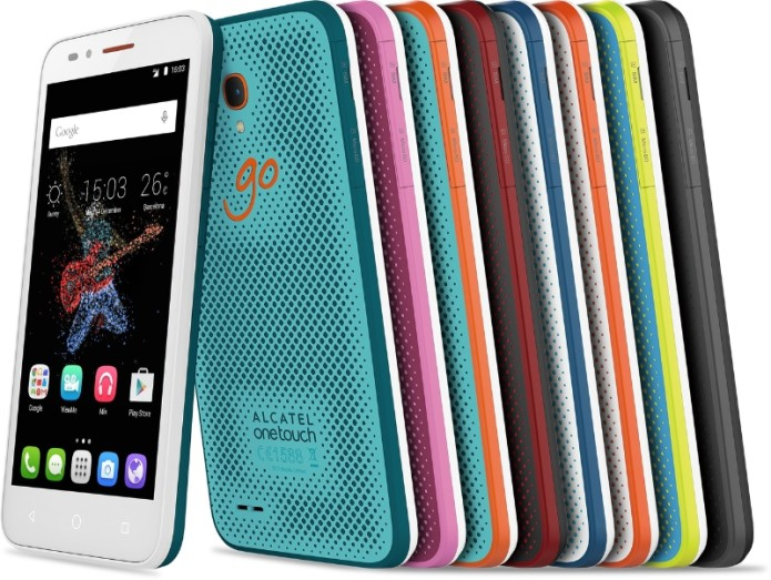 Alcatel reveals new POP and GO devices at IFA 2015