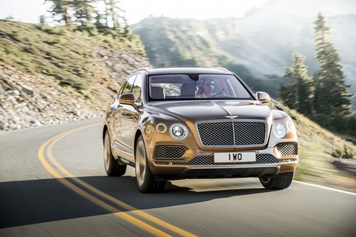 Bentley Bentayga luxury SUV details revealed in full