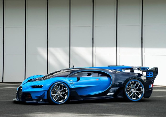 Bugatti's PlayStation car is no toy [Interview]