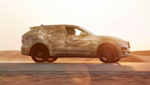 2016 Jaguar F-Pace SUV final street-ready look revealed