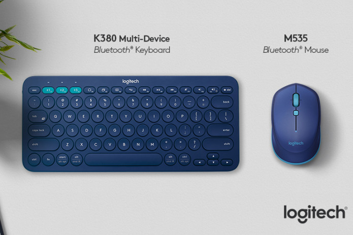 Logitech K380 Bluetooth keyboard and M535 mouse unveiled