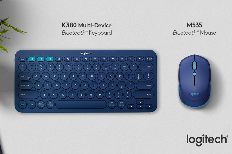 Logitech K380 Bluetooth keyboard and M535 mouse unveiled   GearOpen