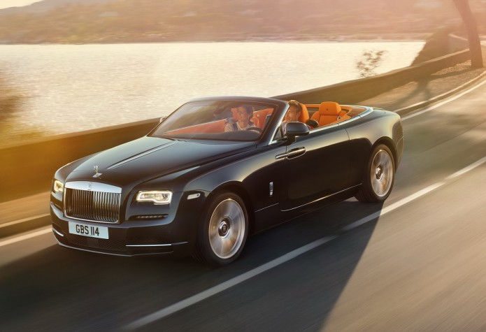 Line up, billionaires, the Rolls-Royce Dawn is here