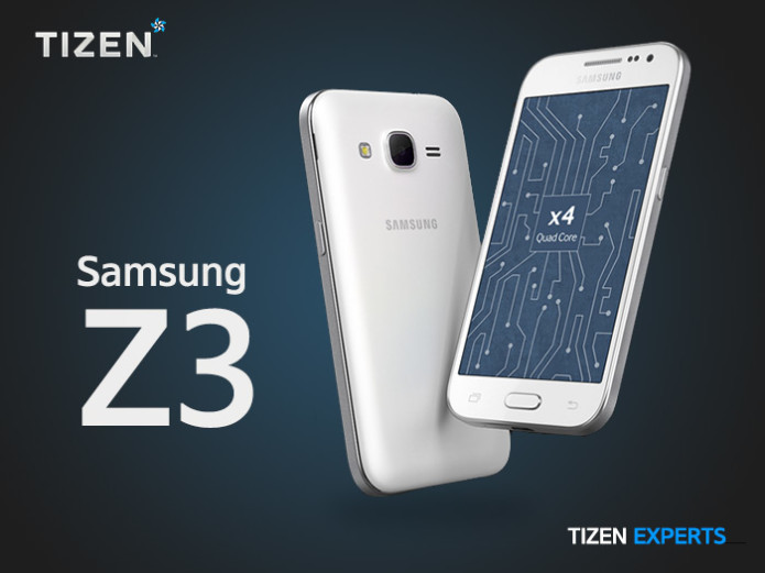 Samsung Z3 leaked in new photos, Tizen OS lives on