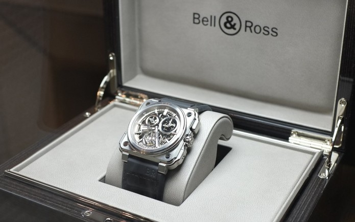 Bell & Ross' New BR-X1 Chronograph Tourbillion Looks Like The Perfect Weaponized Watch For A Bond Villain