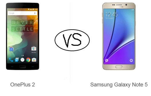 Samsung Galaxy Note 5 vs OnePlus 2 : Battle of the Android phablets