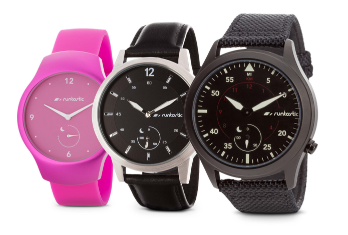 Runtastic Moment is an analog activity-tracking watch