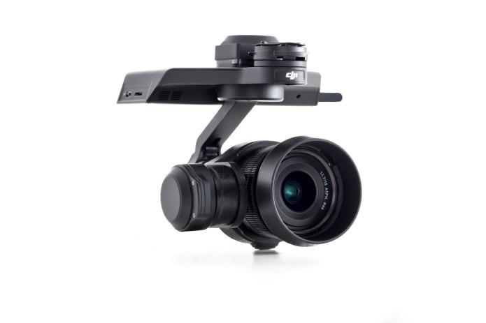 DJI Zenmuse X5 drone cams: M4/3, 4K, interchangeable lens