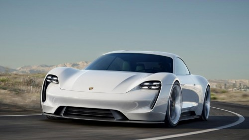 Porsche Mission E delivers 800 volt shock to Tesla