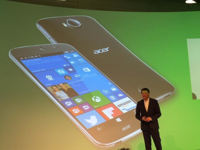 Acer's Jade Primo is a 'pocket PC' phone running Windows 10