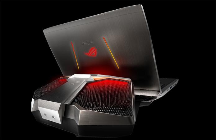 ASUS GX700 gaming laptop rocks liquid cooling and mystery GPU