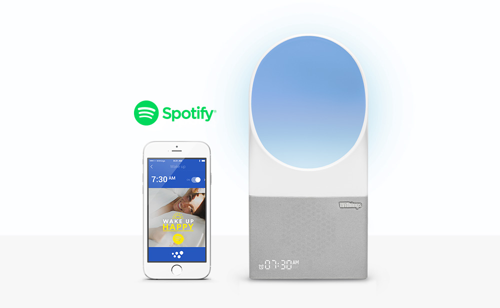 Withings Aura alarm clock gets Spotify Connect support ...