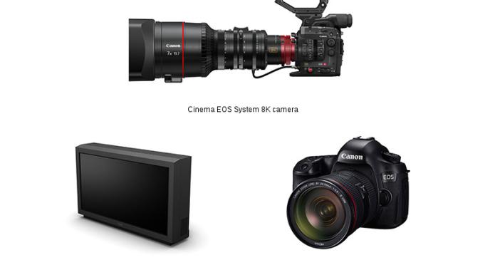 Canon's next gen EOS include 8K camera, 120 MP SLR