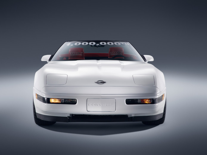 Chevy restores 1 millionth Corvette to perfect condition