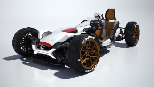 Honda Project 2&4 concept has the heart of a MotoGP racer and four wheels