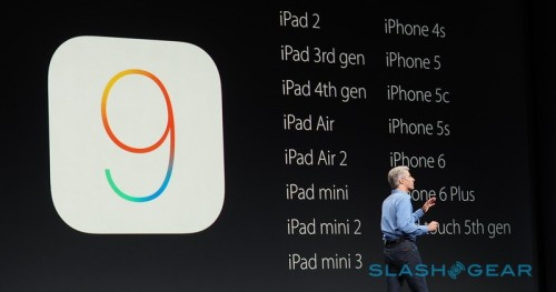 iOS 9 will require less space, support same devices as iOS 8