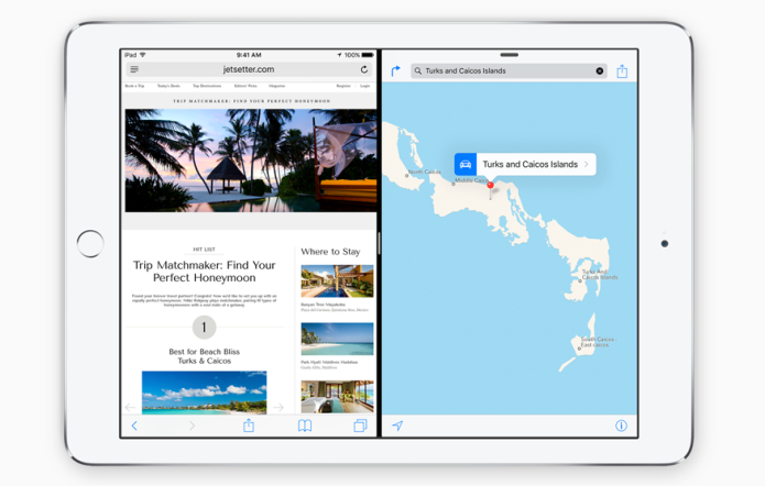 How to use the iPad's new 'slide-over' feature in iOS 9