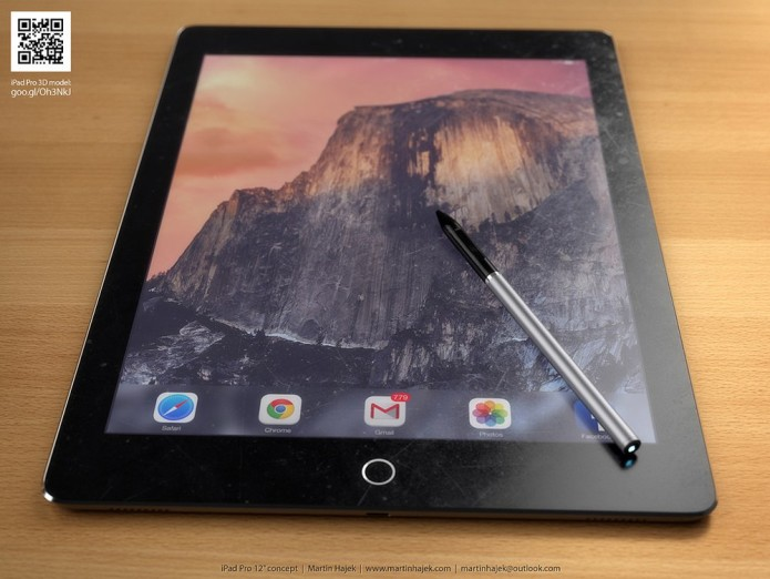 iPad Pro might be late, stylus, keyboard sold separately