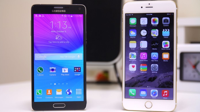 iPhone 6s vs Note 5 vs iPhone 6 hands-on camera test