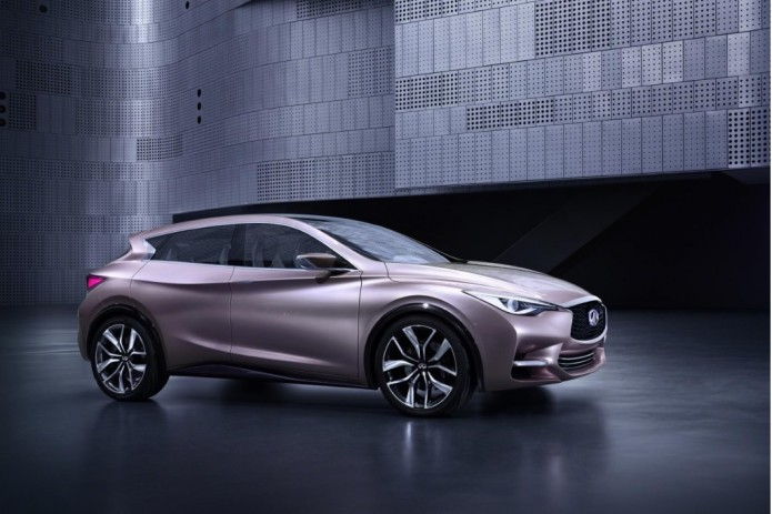Infiniti Q30 set to hit dealers in select markets in 2015