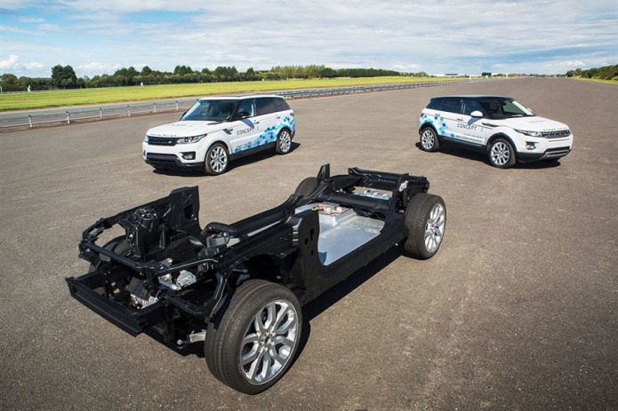 Jaguar Land Rover researching electric Drive Module tech for future EVs, hybrids