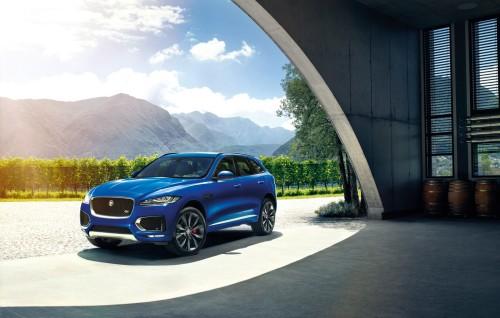 2017 Jaguar F-PACE crossover debuts at Frankfurt Motor Show
