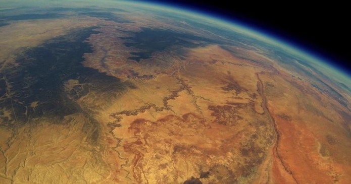 GoPro on a balloon found after 2 years with stunning Earth shots