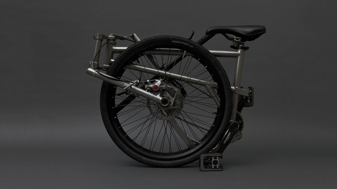 Helix Folding Bike Boasts 24-Inch Wheels, Compact Folded Size, And Only 20 Pounds Of Weight