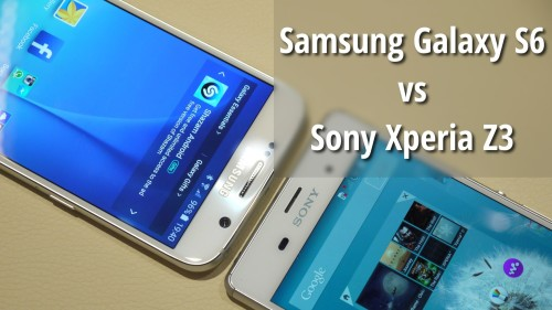 Samsung Galaxy S6 vs Sony Xperia Z3 comparison review: What's the difference?