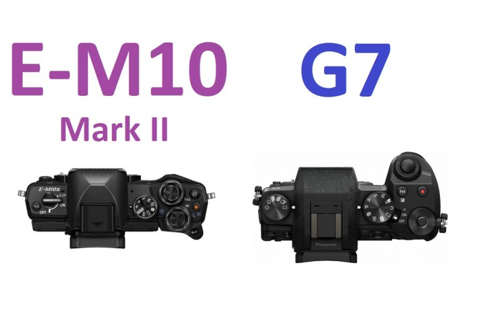 Olympus E-M10 II vs. Panasonic G7 comparison