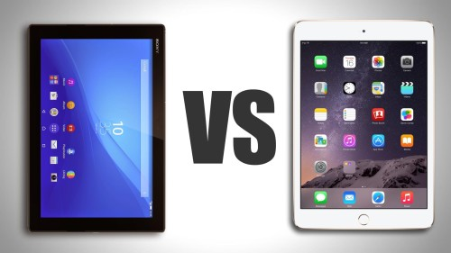 Sony Xperia Z4 Tablet vs iPad Air 2: Which tablet is best?