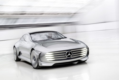 Mercedes' Intelligent Aerodynamic Automobile previews super-luxe digital age