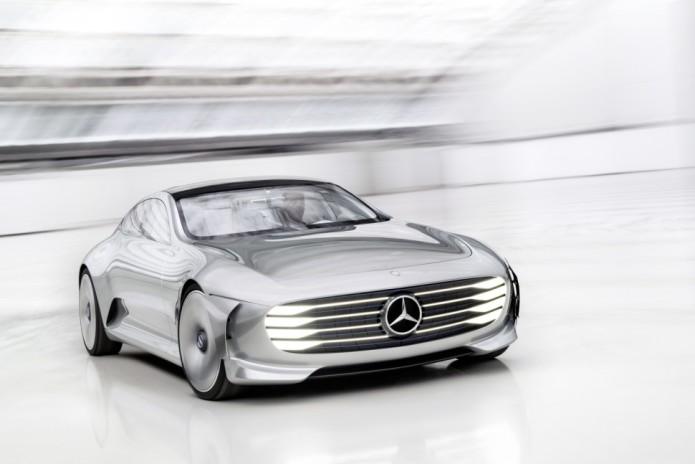 Mercedes' Intelligent Aerodynamic Automobile previews super-luxe digital age