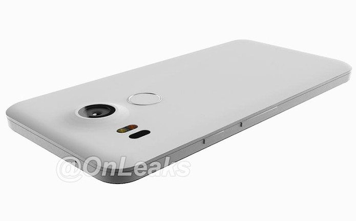 LG Nexus 5 (2015) photos leak showing rear fingerprint scanner