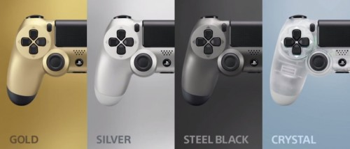 New PS4 controllers, hard drive covers come in plenty of colors