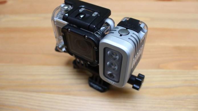 Knog Quodos hands-on: lights for GoPro at night