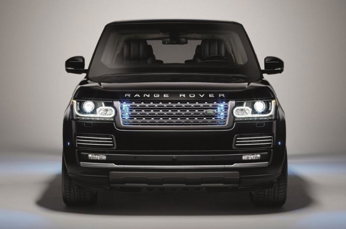 Range Rover Sentinel is a luxurious armored car for the rich and paranoid