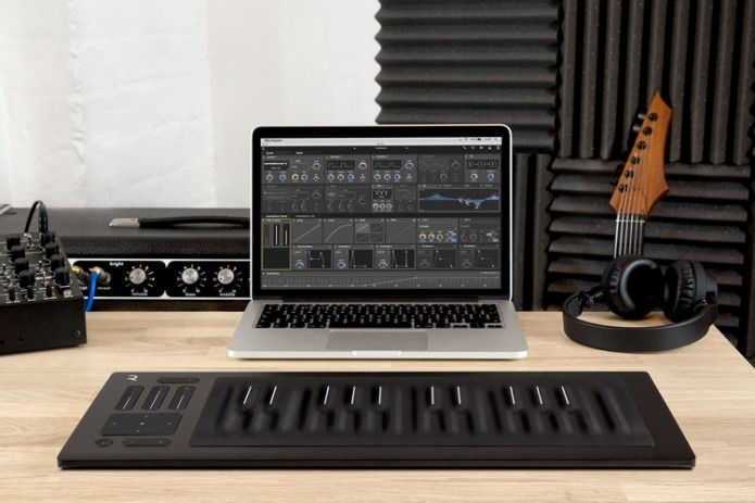 Seaboard Rise MIDI Controller Comes With Squishy Keys That Can Respond To Five Different Actions