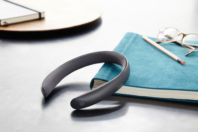 "Batband headphones: an ""ear-free"" audio headband"
