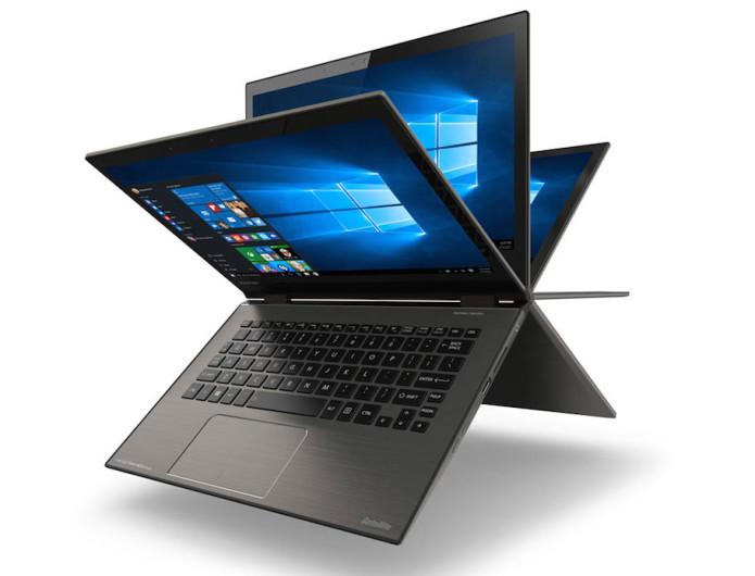 Toshiba's Satellite Radius 12 is a laptop-tablet hybrid with 4K