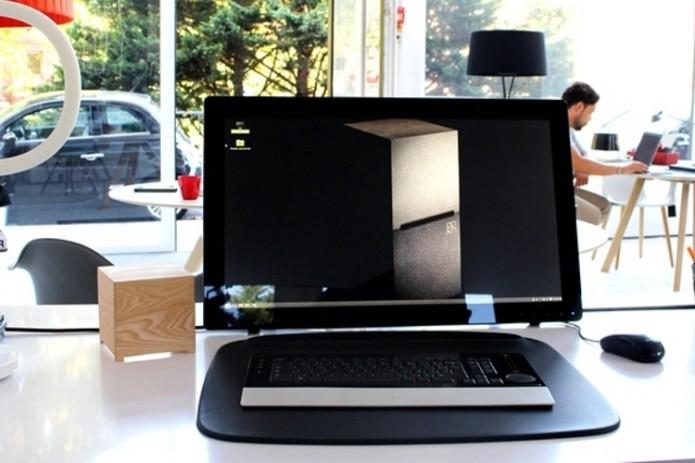 Wood Kubb Houses A Desktop PC Inside A Minimalist Wooden Case