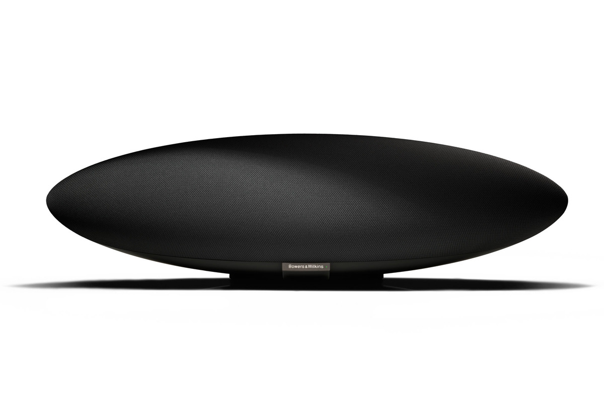 bowers wilkins zeppelin wireless is a blimp shaped. Black Bedroom Furniture Sets. Home Design Ideas